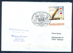 D42- Postal Used Cover. Posted From Germany To Deutschland. - Germany