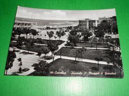 Cartolina Cattolica - Piazzale I° Maggio E Giardini 1958 - Rimini