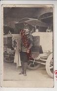 Au Plus Rapide Carte Photo Militaire André Sénéquier * Devant Son Camion Berliet Très Beau Plan - War 1914-18