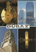 "Dubai - Multi-vues - Destination France 1999, Timbre ""Wild Flowers"" ""Capparis Spinosa"" - Dubai"