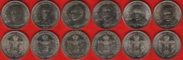 Serbia Set Of 6 Coins: 20 Dinara 2006-2012 UNC - Serbie