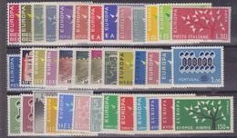 Europa Cept 1962 Year Set 18 Countries ** Mnh (YEAR) - 1962