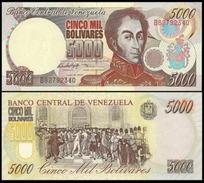 1997 Venezuela 5000 Bolivares P78a UNC - Venezuela