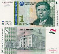 TAJIKISTAN       1 Somoni       P-14a       1999       UNC - Tagikistan