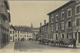 39- BEHOBIE - La Route Nationale -ed. N D -  Douanier - Béhobie