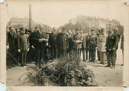 16/08/1922 RECEPTION DU PRESIDENT ARGENTIN MR CARLOS MARIA DE ALBEAR DEPOSE ET DISCOUR AU TOMBEAU DU SOLDAT INCONNU - War, Military