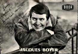 AUTOGRAPHES - CELEBRITES - JACQUES BOYER - Théâtre PACRA à Paris - Dédicace - Autographes