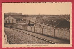 Pont-à-Celles - Arsenal ...atelier Central De Réparation De Locomotives Et De Wagons  De La SNCB (voir Verso ) - Pont-a-Celles