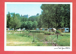 LUSIGNAN 1999 LE CAMPING CARTE EN BON ETAT - Lusignan
