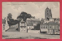 Lobbes - Entrée De L'Escalier De L'Eglise - 192? (voir Verso ) - Lobbes