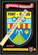 66- FONT ROMEU - BLASON -ECUSSON -- HERAIDIQUE - France