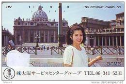 Télécarte Japon * Giappone *  L'Italia Relativi (606)   * Japan PHONECARD - Landschaften