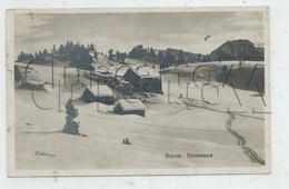 Chamrousse  (38) , Le Chalets D'alpage De Roche-Béranger Sous La Neige En 1950  PF. - Chamrousse
