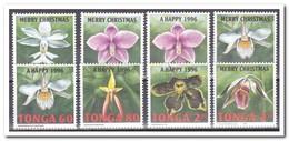Tonga 1995, Postfris MNH, Flowers, Orchids - Tonga (1970-...)