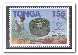 Tonga 1995, Postfris MNH, Flowers, Food, Agriculture - Tonga (1970-...)
