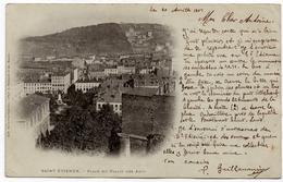 Saint Etienne : Place Du Palais Des Arts (Edition Des Nouvelles Galeries - Photo A. Bergeret, Nancy) - Saint Etienne