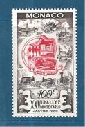 Monaco Timbres De 1955  N°420   Neufs Infime Petite Trace De Charnière Voir Scan (cote 65€) - Monaco