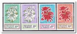 Trinidad & Tobago 1977, Postfris MNH, Flowers, Christmas - Trinidad En Tobago (1962-...)