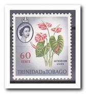 Trinidad & Tobago 1960, Postfris MNH, Flowers - Trinidad En Tobago (1962-...)