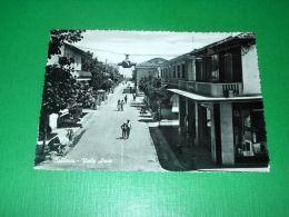 Cartolina Bellaria - Viale Arno 1960 - Rimini