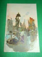 Cartolina Illustrata Chioggia - Particolare 1910 Ca - Venezia