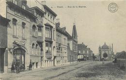 BELGIQUE THIELT Tielt Rue De La Station   2 Scans - Tielt