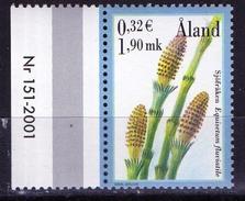 PIA - ALAND - 2001 : Piante E Spore -  (Yv 187-89) - Vegetazione