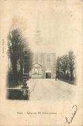 BELGIQUE THIELT Tielt église Des R.R. Frères Mineurs    2 Scans - Tielt