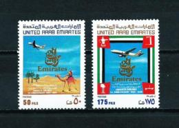 Emiratos Árabes Unidos  Nº Yvert  196/7  En Nuevo - United Arab Emirates (General)