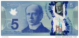 CANADA P. 106a 5 D 2013 UNC - Canada