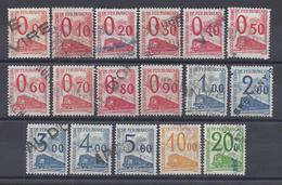 FR - 1960 - Colis Postaux - Série 31 à 47 - Oblitérés - B/TB - - Colis Postaux