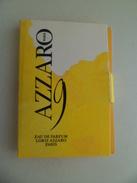 Tigette Ou  Tube De Parfum Echantillon  2 Ml  Eau De  Parfum Loris AZZARO 9 - Miniatures Modernes (à Partir De 1961)
