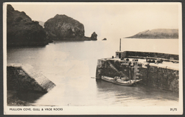 Gull & Vroe Rocks, Mullion Cove, Cornwall, C.1960s - Overland RP Postcard - Other