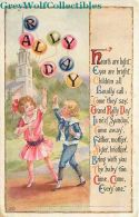 Rally Day,Children With Balloons, Goodenough & Woglom No. 22 - Christianity