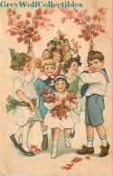 Rally Day, Children With Red Flowers, Westminster Press - Christianity