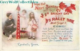Rally Day, Children With Drums, Goodenough & Woglom No. 4 - Christianity