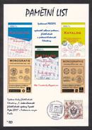 Czech Rep. / Commemorative Sheet (PaL 2011/02) Praha 1: Company PRESSFIL - Publisher Of Postal And Philatelic Literature - Czech Republic