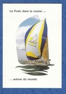Livret Premier Jour + 2 Cartes Postales - SOUTHAMPTON - Bateau LA POSTE First 51 Bénéteau - 1990 - Whitebread D. Malle - France