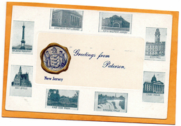 Paterson NJ 1900 Postcard - Paterson