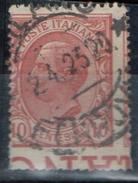 PIA - ITALIA - REGNO : 1906 : Re Vittorio Emanuele III Con VARIETA'  - (SASSONE   81 ) - 1900-44 Vittorio Emanuele III