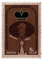 Ref. 30747 * NEW *  - SOVIET UNION . 1982. WORLD CHESS MEN CHAMPIONSHIP. CAMPEONATO DEL MUNDO DE AJEDREZ MASCULINO - Unused Stamps
