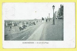 * Blankenberge - Blankenberghe (Kust - Littoral) * (VED) Un Coin De La Plage, Beach, Strand, Digue, Dijk, Animée Cabines - Blankenberge