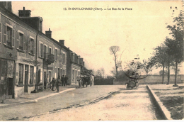CPA N°292 - SAINT DOULCHARD  - LE BAS DE LA PLACE - France
