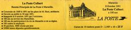 A VOIR ! CARNET TIRAGE LOCAL MARSEILLE VARIETES Y&T 2712 CP1 MARIANNE BRIAT Bouches Du Rhone CARTES POSTALES - Carnets
