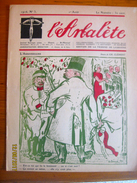 Suisse: L'Arbalète, Journal Satirique 1916-17 - Edmond Bille Cofondateur 1er Août 1916 - Kranten