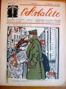 Suisse: L'Arbalète, Journal Satirique 1916-17 - Edmond Bille Cofondateur 1er Octobre 1916 - Newspapers