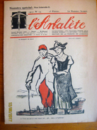 Suisse: L'Arbalète, Journal Satirique 1916-17 - Edmond Bille Cofondateur 15 Février 1917 - Newspapers