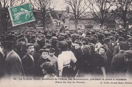 C1 / MERU  N° 21  LES TROUBLES DE MERU    LE CITOYEN PLATEL..SECRETAIRE DE L UNION DES BOUTONNIERS  1909 - Meru