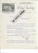 Suisse - VALLORBE - Facture GROBETY - Graines, Farines, Tourteaux, Fourrages - 1910 - REF 263 - Suisse