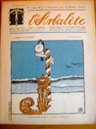 Suisse: L'Arbalète, Journal Satirique 1916-17 - Edmond Bille Co-fondateur 1er Novembre 1917 - Newspapers
